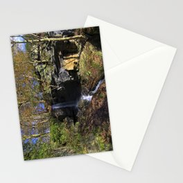 Waterfall at Lumsdale Stationery Cards
