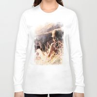 big sur Long Sleeve T-shirts featuring BIG SUR by TOO MANY GRAPHIX
