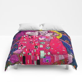 The Kiss Macabre Comforters
