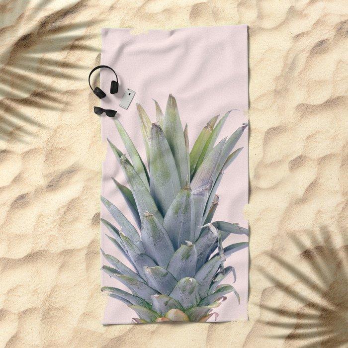 Finapple V3 #society6 #decor #buyart Beach Towel