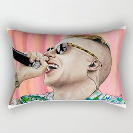 Macklemore Rectangular Pillow