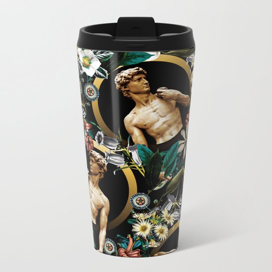 Michelangelo Buonarroti - David Metal Travel Mug
