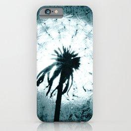 Dandelion Art 6 iPhone Case