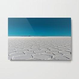 Salt Flats of Salar de Uyuni, Bolivia #2 Metal Print