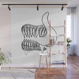 Fang Lick Wall Mural