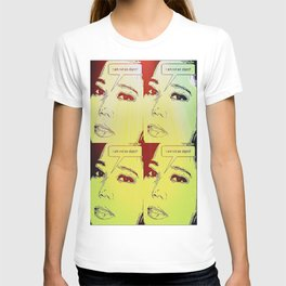 Make a statement with popart T-shirt