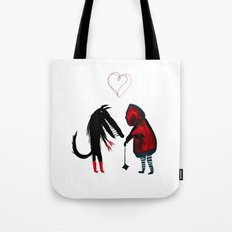 Little Red Riding Hood Tote Bag