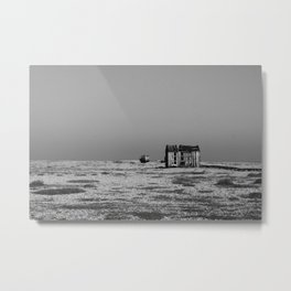 Shack by the sea Metal Print
