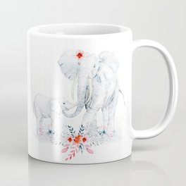 Mother's Day (Mother and Baby Elephants) Coffee Mug