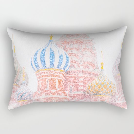 Russian Winter Rectangular Pillow