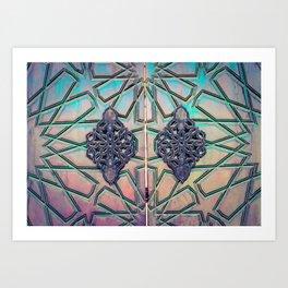 Mosque Door Art Print
