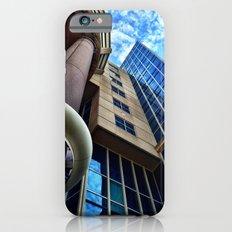 UFO Blue Building  iPhone 6s Slim Case