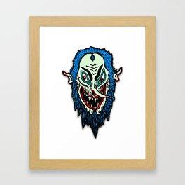 Lord Wizard Head Framed Art Print