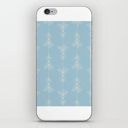 Turquoise Doubled Siam Tulips iPhone Skin