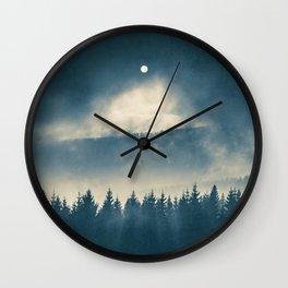 Follow the light Wall Clock