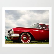 Collection series red! Art Print