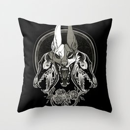 Malediction Throw Pillow