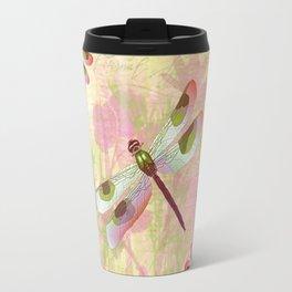Pretty Dragonflies Travel Mug