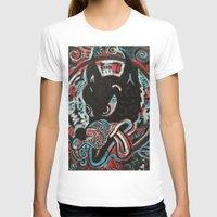 ashton irwin T-shirts featuring Irwin Wolf by Matt Pecson