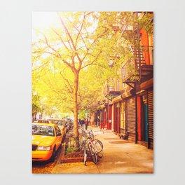 Autumn - East Village - New York City Canvas Print