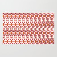 ikat Area & Throw Rugs featuring Ikat by Jay Hooker Designs