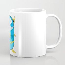 Golang - Iris Gopher Coffee Mug