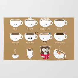Know Your Coffees Rug