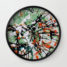 Energetic Wall Clock