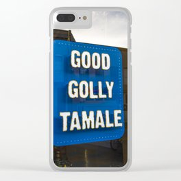 Good Golly Tamale Clear iPhone Case