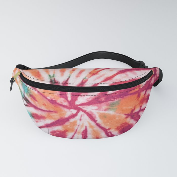 Tie Dye in Bright Colors. Let's revive the 70'. Bohemian Tie Dye Design Fanny Pack