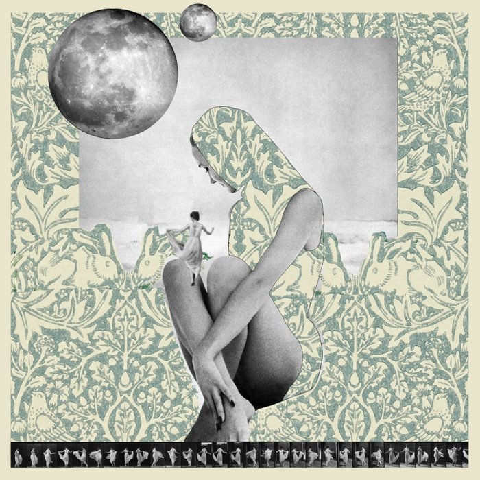 Dance to the Two Moons Duvet Cover