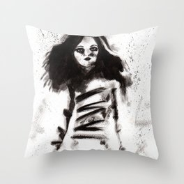 Soldados muertos (sketch version) Throw Pillow