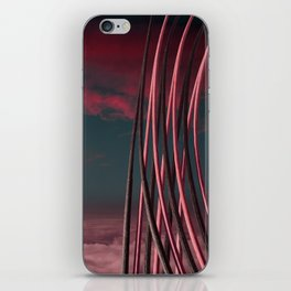 Morning at Planet One iPhone Skin