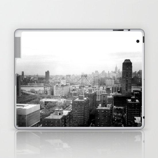 Brooklyn Black and White Laptop & iPad Skin
