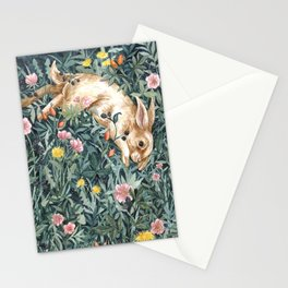 Rabbit & Moody Florals Stationery Cards