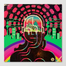 Gaia's Dome Canvas Print