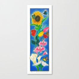 BUTTERFLWOERS Canvas Print