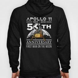 50th Anniversary Apollo 11 1969 with Lunar Lander design Hoody