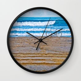 Beach Bike Wall Clock