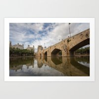 Pont del Mar Art Print