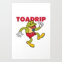 TOADRIP Art Print