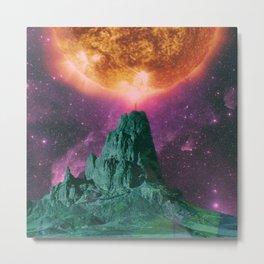 Space Mount Metal Print