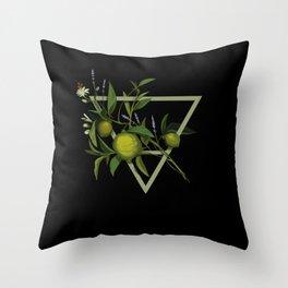 Tea Element - Earth / Lavender Earl Grey Throw Pillow