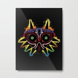 Majora's Splat! v.3d Metal Print