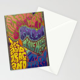 Dust and Drag Stationery Cards