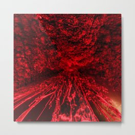Volcanic eruption Metal Print