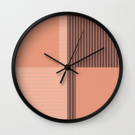 Figaro in Clay Wall Clock