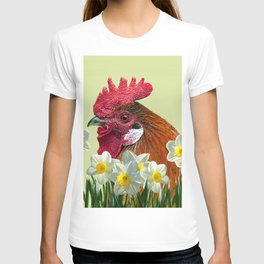 Roaster - Daffodils Flower Blossoms T-shirt
