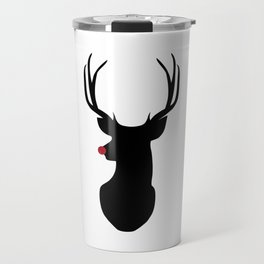 Rudolph The Red-Nosed Reindeer Travel Mug