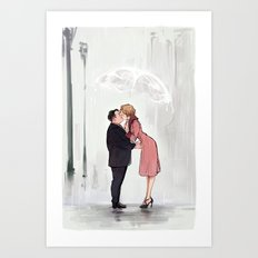 Jacob&Queenie Art Print